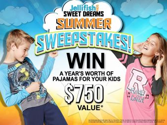 Jelli Fish Kids Sweepstakes