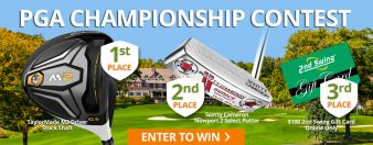 2nd Swing · PGA championship Contest Sweepstakes