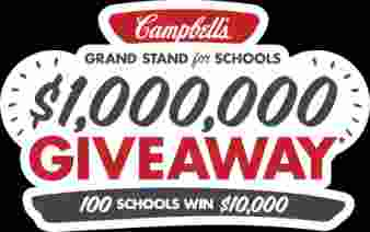 Campbell's Grand Stand For Schools Giveaway Sweepstakes