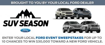 Ford Event Sweepstakes Sweepstakes