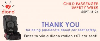 Diono Sweepstakes
