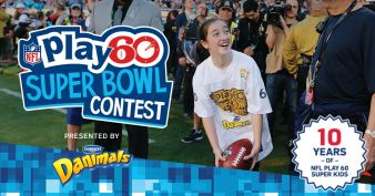 2016 NFL PLAY 60 Super Bowl Contest Sweepstakes