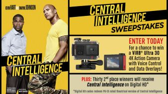 Central Intelligence Sweepstakes Sweepstakes