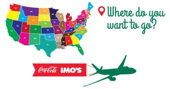 Imo's & Coca-Cola Airline Tickets Contest Sweepstakes