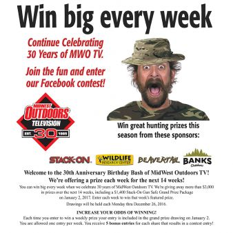 MidWest Outdoors Magazine & Television Sweepstakes