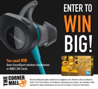 The Corner Mall Sweepstakes