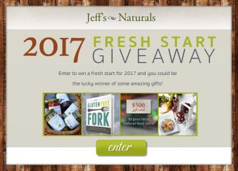 Jeff's Naturals Sweepstakes