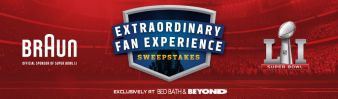 Braun® Extraordinary Fan Experience Sweepstakes Sweepstakes