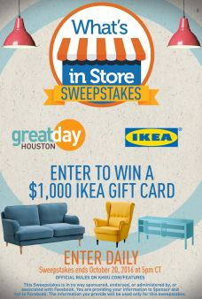 Great Day Houston Sweepstakes