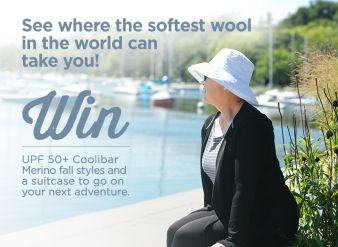 Coolinar Sun Protective Clothing Sweepstakes
