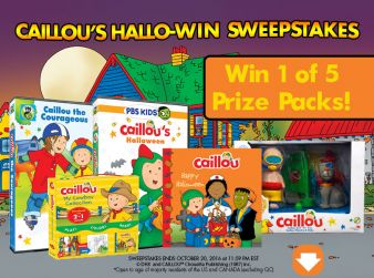 Caillou Sweepstakes