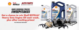 Auto Parts Warehouse Sweepstakes