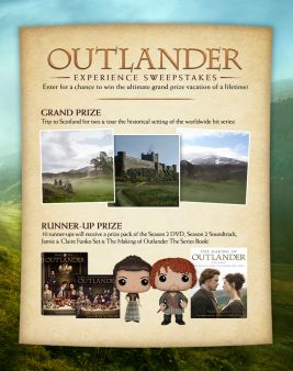 Outlander Store Sweepstakes