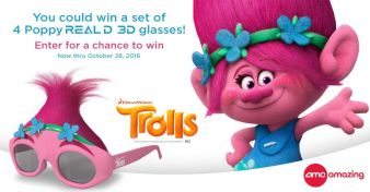 AMC Theatres · Trolls Pack Sweepstakes Sweepstakes