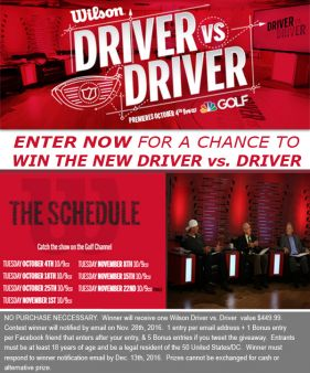 Golf Headquarters Sweepstakes