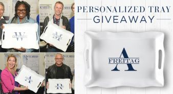 Q Squared NYC · Personalized Tray Giveaway Sweepstakes