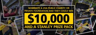Stanley Tools Sweepstakes