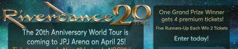 Riverdance Ticket Giveaway Sweepstakes