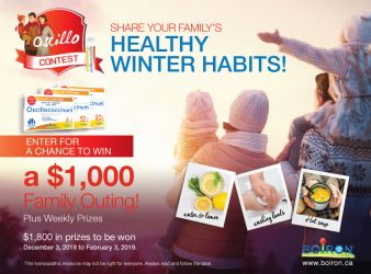 Oscilla Takes Care of You Sweepstakes Sweepstakes
