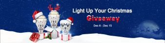 LOFTEK & SANSI Light up Your Christmas Giveaway Sweepstakes