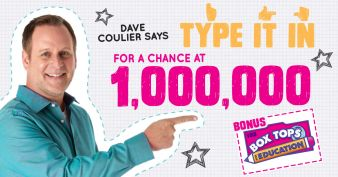 1 Million Box Tops Sweepstakes Sweepstakes
