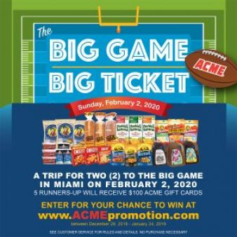 ACME Markets Sweepstakes