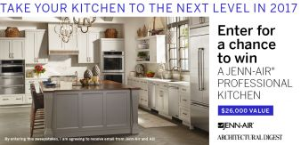 Architectural Digest Sweepstakes Sweepstakes