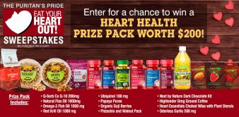 Puritan's Pride Sweepstakes