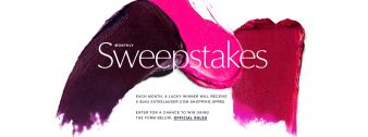 Estée Lauder · Monthly Sweeps Sweepstakes