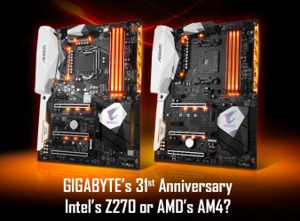 GIGABYTE Motherboards Sweepstakes