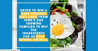 Iowa Egg Council Sweepstakes