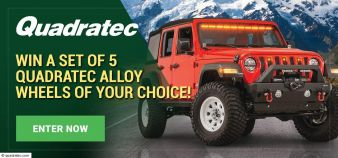 Quadratec · Monthly Jeep Parts Giveaway Sweepstakes
