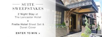 Frette Sweepstakes