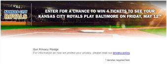 Midwest Ford Dealers Sweepstakes