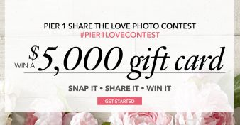 Pier 1 Imports Sweepstakes