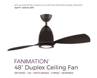 Del Mar Fans & Lighting Sweepstakes