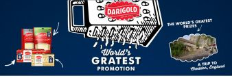 Darigold White Cheddar Sweepstakes