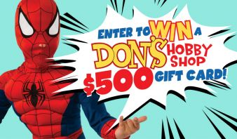 Don's Hobby Shop Sweepstakes
