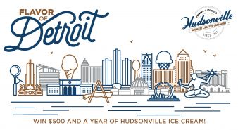 HUDSONVILLE ICE CREAM Sweepstakes