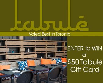 Tabülè Middle Eastern Cuisine Sweepstakes