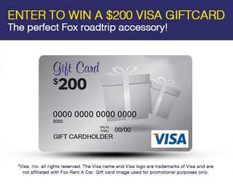 Fox Rental Car Sweepstakes