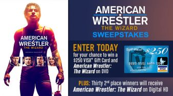 American Wrestler: The Wizard Sweeps Sweepstakes