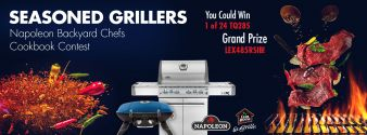 The Napoleon Seasoned Grillers Cookbook Contest Sweepstakes