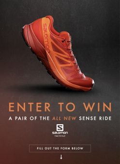 Trail Runner Magazine Sweepstakes