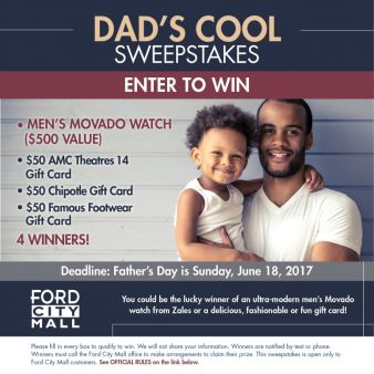 Ford City Mall Sweepstakes