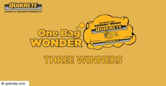 QUIKRETE® Sweepstakes