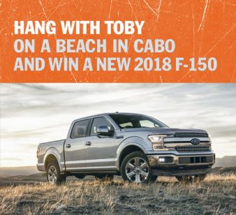 TOBY KEITH'S Sweepstakes