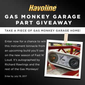 Havoline Sweepstakes