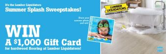 Lumber Liquidators Sweepstakes