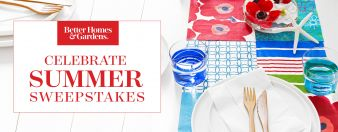 BH&G · Celebrate Summer Sweeps Sweepstakes